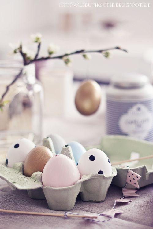 идеи пасхальных яиц как покрасить яйца на Пасху дизайн 2014 необычные варианты